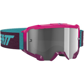 Leatt Velocity 4.5 Anti Fog Goggles neon pink/clear